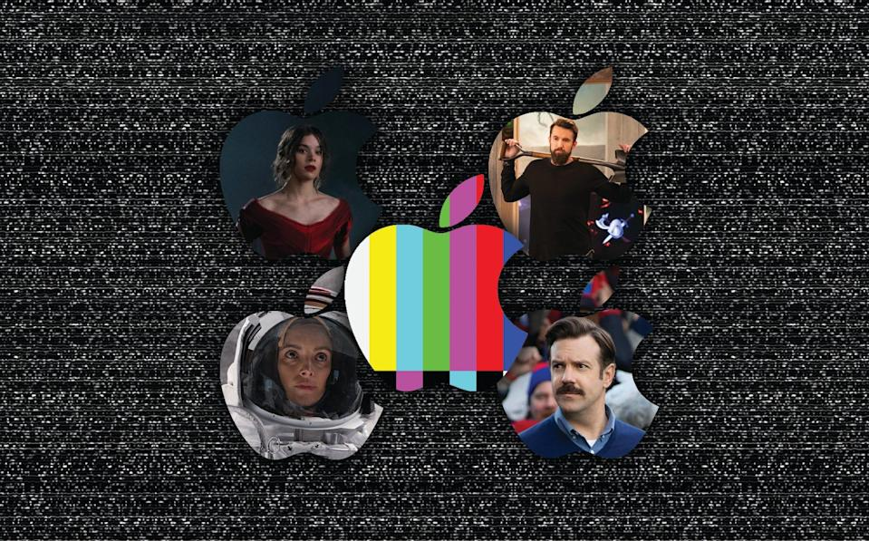 """Apple TV+ standout shows include """"Dickinson,"""" """"Mythic Quest,"""" """"Ted Lasso,"""" and """"For All Mankind."""""""