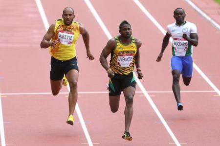 FILE PHOTO - Commonwealth Games Glasgow, Scotland - 27/7/14 Jason Livermore of Jamaica during the Men's 100m . Mandatory Credit: Action Images / Steven Paston