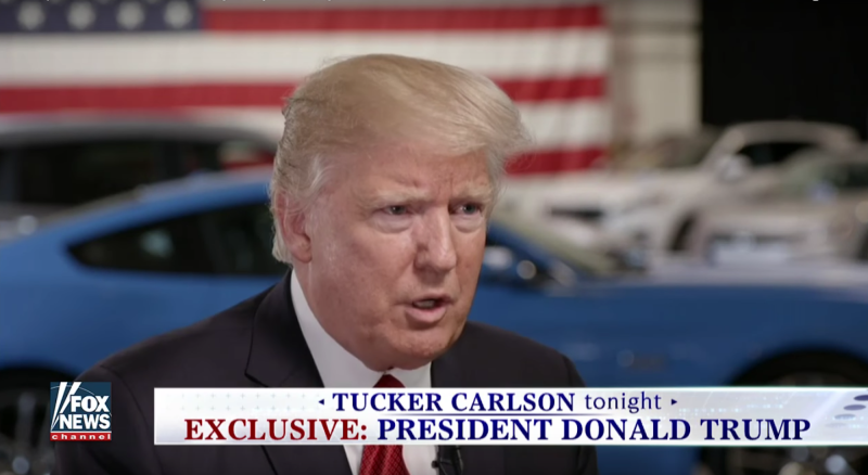 """President Donald Trump acknowledged during a Wednesday interview with Fox News host Tucker Carlson that social media helped get him elected. """"Well, let me tell you about Twitter. I think that maybe I wouldn't be here if it wasn't for Twitter because I get such a fake press, such a dishonest press,"""" Trump said to […]"""