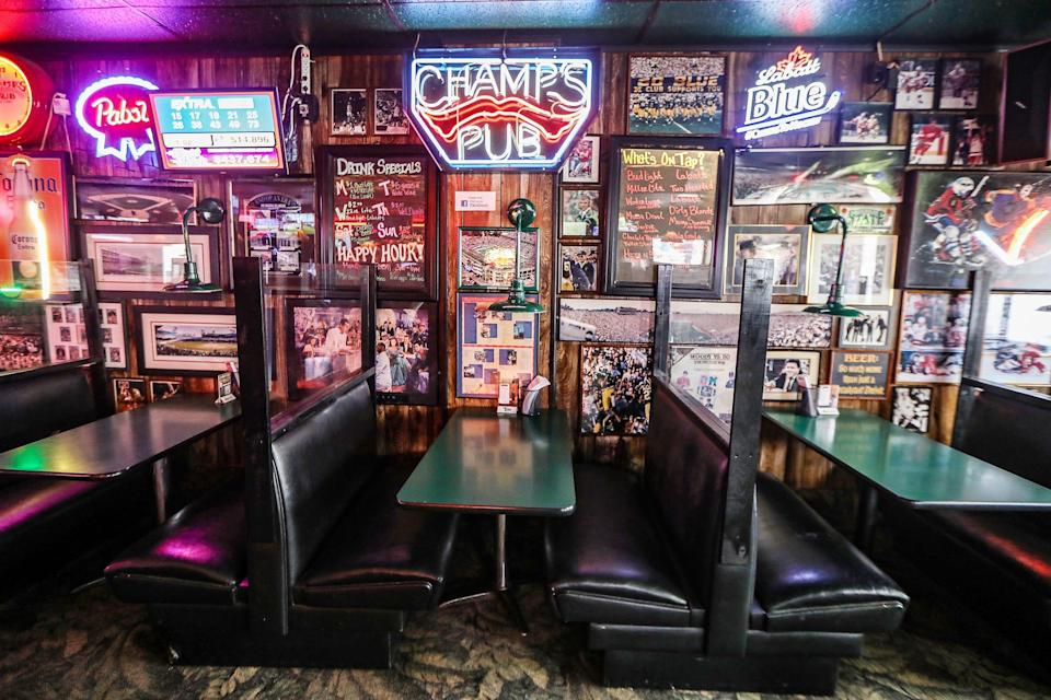 Champs Pub in Brighton, Mich. has been selected to receive a financial lifeline from the Barstool fund founded by Dave Portnoy to aid small businesses struggling to stay afloat during the coronavirus pandemic.