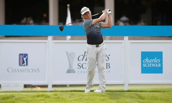 Bernhard Langer still going strong at 62 (AFP Photo/Ralph Freso)