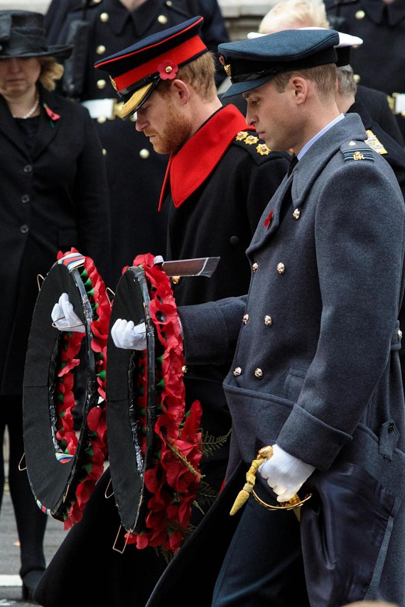 A member of the elite cavalry regiment wasn't impressed with Prince Harry's beard. Photo: Getty Images