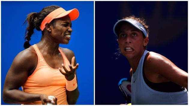 US Open finalists Stephens and Keys suffer first-round Wuhan defeats