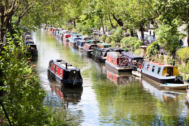 Follow Regent's Canal Path from Little Venice (pictured) to Hackney, meeting all manner of man and beast along the way - willbrasil21 - Fotolia