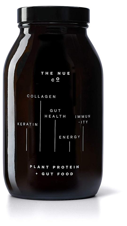 "<p>""I'm not a big fan of supplements, but I do really like the The Nue Co brand. I've been testing out a few of The Nue Co products, and one supplement I really like is the <a href=""https://www.popsugar.com/buy/Probiotic-Plant-Protein-485759?p_name=Probiotic%20Plant%20Protein&retailer=amazon.com&pid=485759&price=55&evar1=fit%3Auk&evar9=46541697&evar98=https%3A%2F%2Fwww.popsugar.com%2Ffitness%2Fphoto-gallery%2F46541697%2Fimage%2F46562127%2FNue-Co-Plant-Protein-Gut-Food&prop13=api&pdata=1"" rel=""nofollow"" data-shoppable-link=""1"" target=""_blank"" class=""ga-track"" data-ga-category=""Related"" data-ga-label=""https://www.amazon.com/Nue-Co-Natural-Probiotic-Protein/dp/B071X9ZNPY/ref=sr_1_7?gclid=EAIaIQobChMI-5-47MSo5AIVB9VkCh3KbQ0AEAAYAyAAEgIkRvD_BwE&amp;hvadid=318579053914&amp;hvdev=c&amp;hvlocphy=9067609&amp;hvnetw=g&amp;hvpos=1t3&amp;hvqmt=e&amp;hvrand=15192551974636776959&amp;hvtargid=kwd-403106586419&amp;hydadcr=21851_9349721&amp;keywords=the+nue+company&amp;qid=1567097435&amp;s=gateway&amp;sr=8-7"" data-ga-action=""In-Line Links"">Probiotic Plant Protein</a> ($55). I typically avoid protein powder because I find that most have a terrible aftertaste, but this one doesn't really have a flavor (which I prefer). When I'm superbusy and running from a workout to work, I'll mix this protein powder with oat milk and have a quick meal replacement."" - Tamara Pridgett, assistant editor, Fitness</p>"