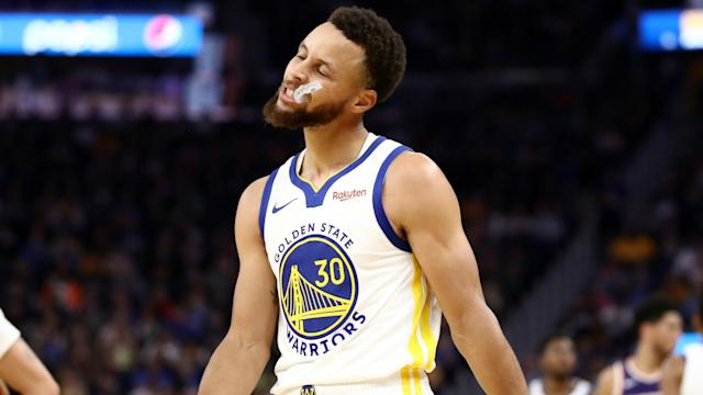 Stephen Curry's injury time frame is unchanged, according to Golden State Warriors coach Steve Kerr.