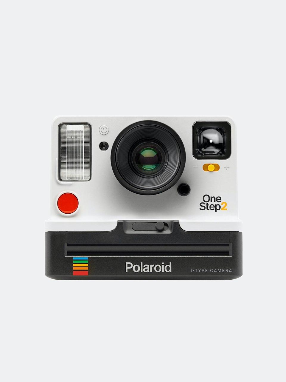 "<h3>Polaroid One Step 2 VF Camera</h3> <br>Sure, you're already dutifully documenting every moment, large and small, on your iPhone. However, nothing beats a real photograph — whether you want to start a monthly series to see your little one grow, or simply want to create a special keepsake to look back on, a film camera can help you cherish memories for years to come.<br><br><strong>Polaroid</strong> One Step 2 VF Camera, $, available at <a href=""https://go.skimresources.com/?id=30283X879131&url=https%3A%2F%2Fwww.verishop.com%2Fpolaroid%2Fcamera-electronics%2Fone-step-2-vf-camera%2Fp4165768347671"" rel=""nofollow noopener"" target=""_blank"" data-ylk=""slk:Verishop"" class=""link rapid-noclick-resp"">Verishop</a><br>"