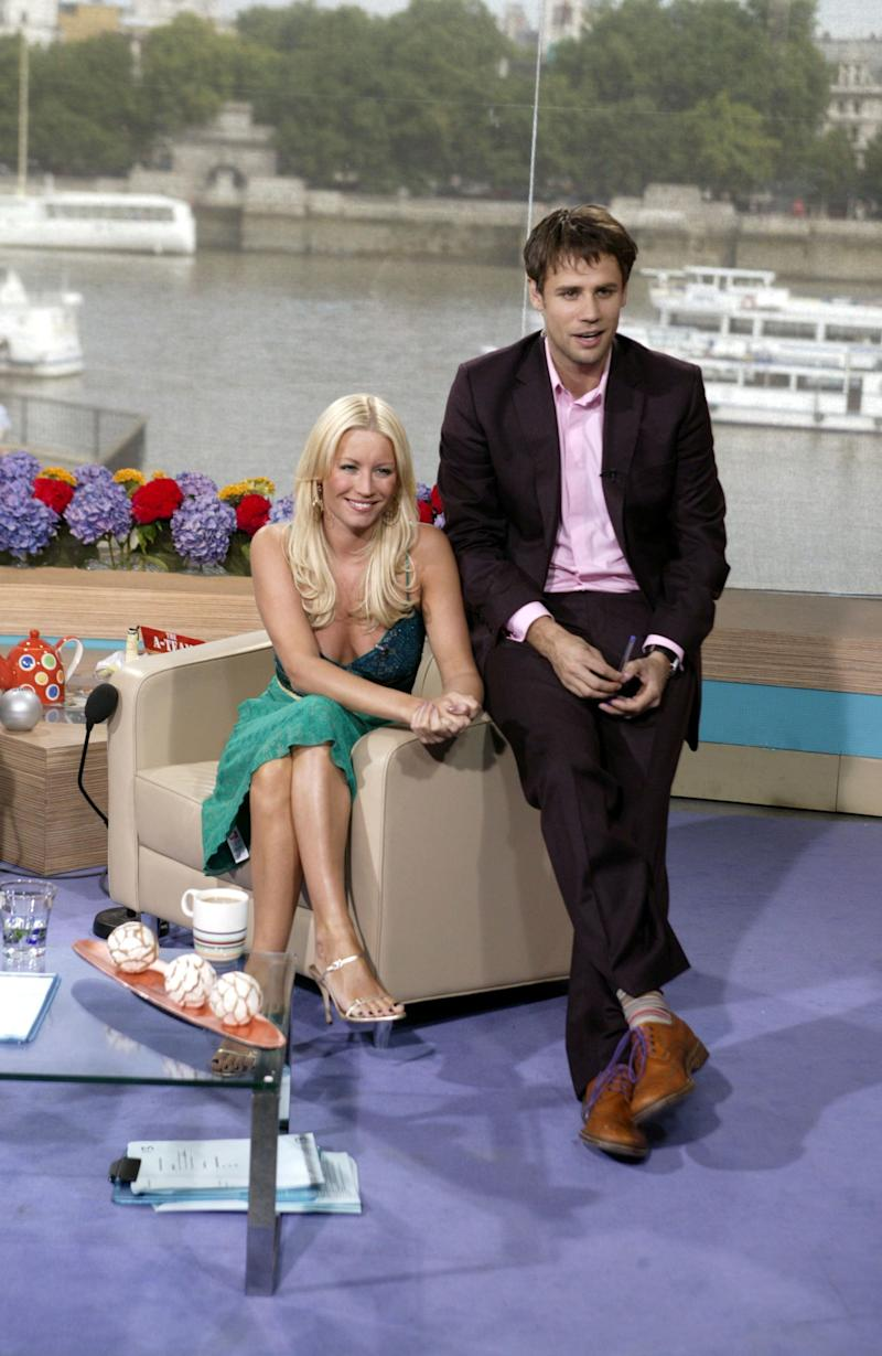 Another random pairing, but both Denise and Richard had experience in hosting morning telly, having previously fronted Channel 4's 'The Big Breakfast', albeit it with separate co-hosts. Here they are on 'This Morning' in 2005.