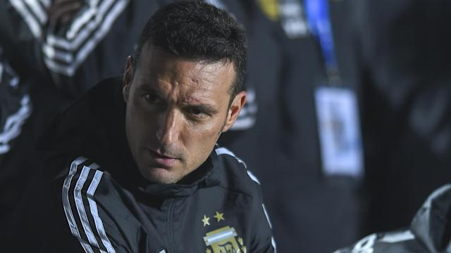 Lionel Scaloni was in a joking mood as he previewed Argentina's Copa America opener against Colombia on Saturday.