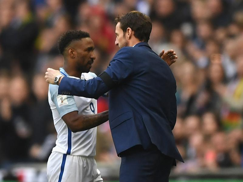 Gareth Southgate elected to withdraw Defoe on the hour mark: Getty
