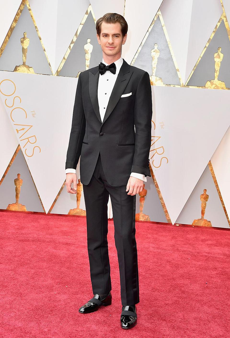<p>Actor Andrew Garfield attends the 89th Annual Academy Awards at Hollywood & Highland Center on February 26, 2017 in Hollywood, California. (Photo by Steve Granitz/WireImage) </p>
