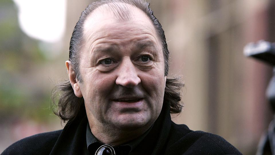 Seen here, Frank Worthington later in his life after football.