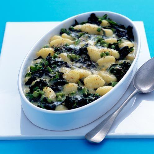 """<p>A simple and delicious vegetarian recipe.</p><p><strong>Recipe: <a href=""""https://www.goodhousekeeping.com/uk/food/recipes/a535996/baked-gnocchi/"""" rel=""""nofollow noopener"""" target=""""_blank"""" data-ylk=""""slk:Baked Gnocchi"""" class=""""link rapid-noclick-resp"""">Baked Gnocchi</a></strong></p>"""