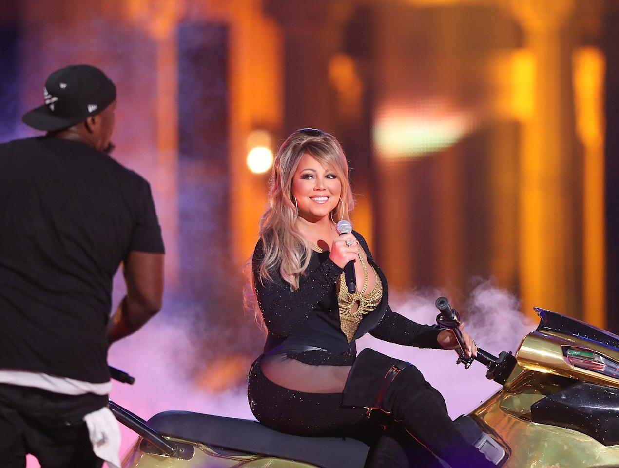 """<p>The singer fumbled her way through three <a rel=""""nofollow"""">painfully awkward performances</a> on Dec. 31, 2016, closing out <em>Dick Clark's New Year's Rockin' Eve with Ryan Seacrest</em> — and the year — on a sour note. Sounds problems plagued Carey's appearance, beginning with her take on the New Year's Eve classic """"Auld Lang Syne."""" Seconds into that number, it became clear Carey could not hear the backup vocals heard on the live broadcast, causing her to get flustered.  """"I used to get upset by things,"""" she told <a rel=""""nofollow""""><em>Rolling Stone</em></a> of the performance. """"This was out of my control, and had everything not been such a total chaotic mess, then I would have been able to make something happen. Even the dancers should have stopped dancing and helped me off the f---ing stage. I'm sorry. It was a mess, and I blame everybody, and I blame myself for not leaving after rehearsal.""""</p>"""