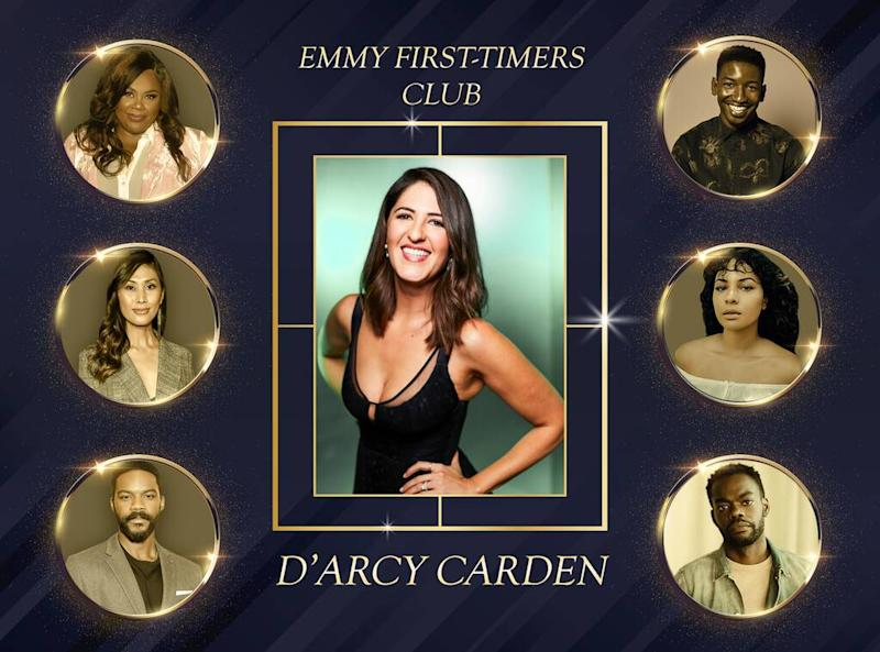Emmy First-Timers Club, D'Arcy Carden