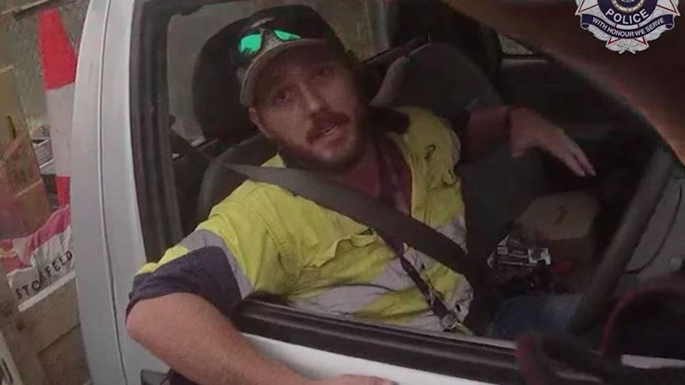 The man gave his name as Jimmy, 27, from central Queensland. Pic: Queensland Police Service