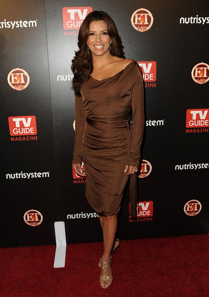 """Desperate Housewives"" hottie Eva Longoria attended TV Guide's ""Sexiest Stars of 2009"" soiree at the Sunset Towers Hotel in Hollywood, CA. Jordan Strauss/<a href=""http://www.wireimage.com"" target=""new"">WireImage.com</a> - March 24, 2009"