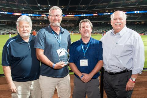 David Weekley Homes Recognizes LP Service for Fifth Straight Year with Industry Acclaimed 'Partners of Choice' Award