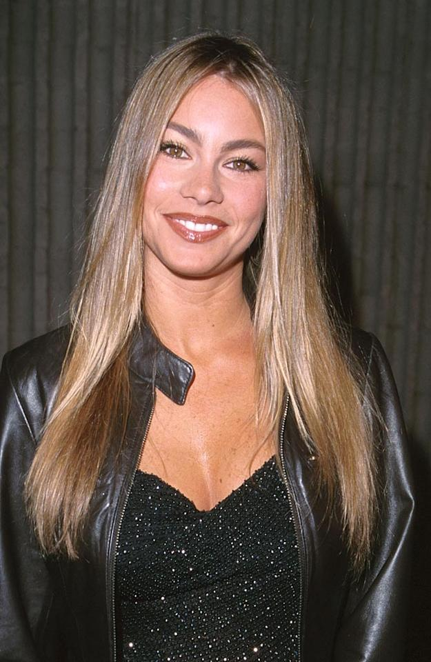 """Although Vergara does have a lot of things in common with her character -- like her birthplace and accent -- hair color is not one of them. The actress credits her darker 'do with helping her to land more gigs. """"It was the best thing I did"""" she tells """"Access Hollywood."""" """"The moment I dyed my hair dark, [casting directors said,] 'Oh, she's the hot Latin girl.'"""" SGranitz/<a href=""""http://www.wireimage.com"""" target=""""new"""">WireImage.com</a> - February 3, 2000"""