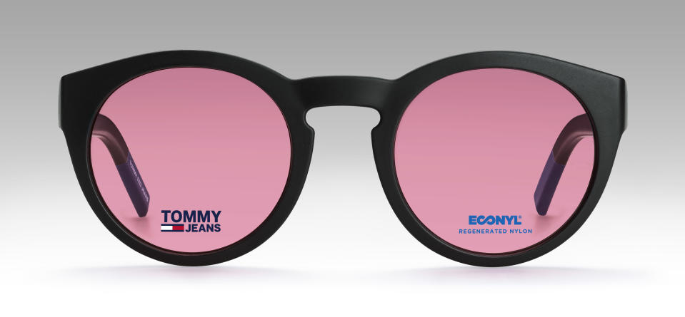 Tommy Jeans glasses by Safilo, made with Econyl material from recycled nylon. - Credit: Tessarollo Silvano