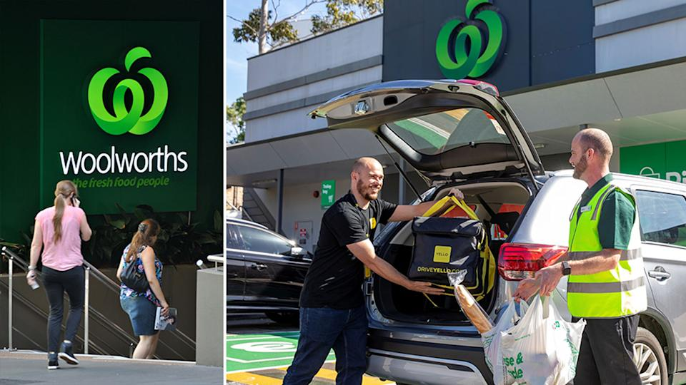 Woolworths has revamped its delivery subscription plans as demand for same day delivery surged in the past year. Source: AAP/Woolworths