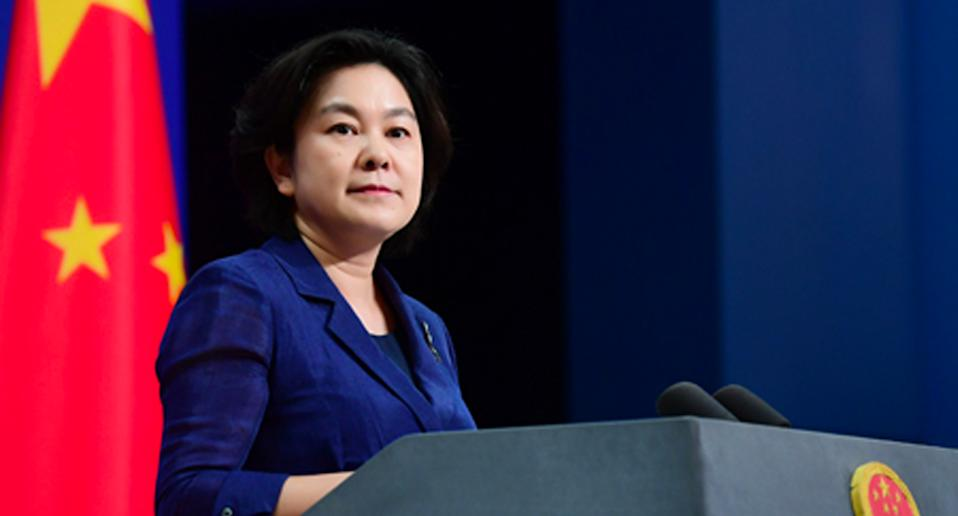 Foreign ministry spokesperson Hua Chunying said China had evidence to back its claims of an increase in racist attacks, leading to its calls for Chinese people to reconsider visiting Australia. Source: FMPRC