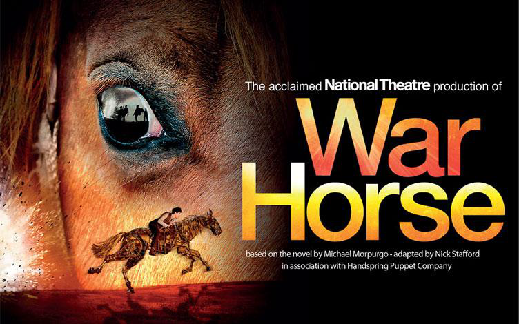 The official poster for War Horse (PHOTO: National Theatre)
