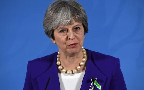 Theresa May will travel to Brussels today - Credit: PA
