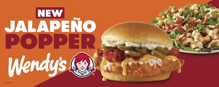 Wendys Jalapeno-Popper Sandwhich (The Wendy's Company)