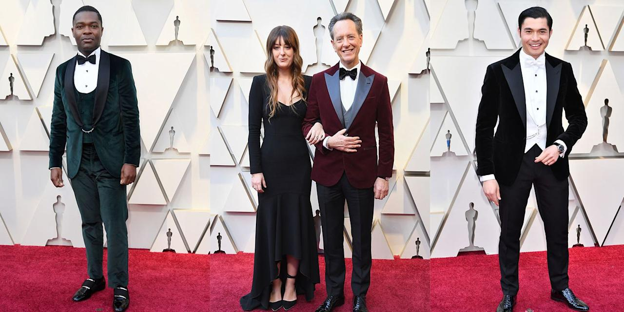 "<p>It's hard for the men of the Oscar's to compete with the <a rel=""nofollow"" href=""https://www.townandcountrymag.com/style/fashion-trends/g26289119/best-oscars-dresses-2019/"">glamorous gowns</a> and<a rel=""nofollow"" href=""https://www.townandcountrymag.com/style/jewelry-and-watches/g26311358/best-oscars-jewelry-2019/""> glittering gems</a> on the night's female attendees. The award show has a black tie dress code, meaning men are limited to tuxedos, but this year a few men managed to grab the spotlight. See the best dressed actors from the 2019 Oscars red carpet: </p>"