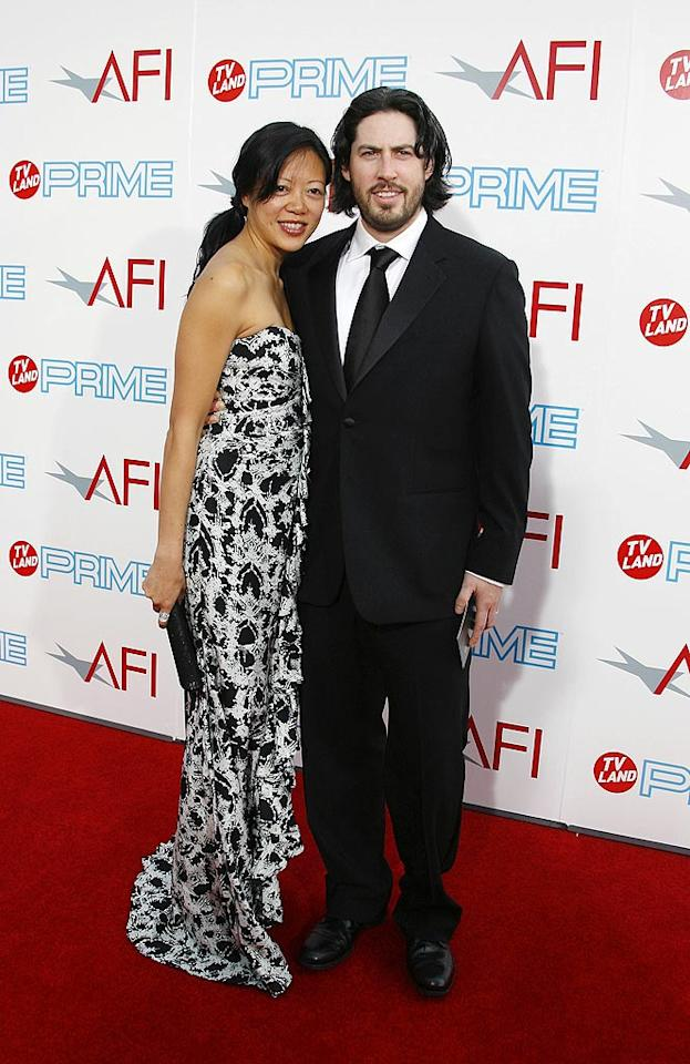 """<a href=""""http://movies.yahoo.com/movie/contributor/1804141701"""">Jason Reitman</a> and wife Michele Lee at the 37th Annual AFI Lifetime Achievement Awards - 6/11/2009"""
