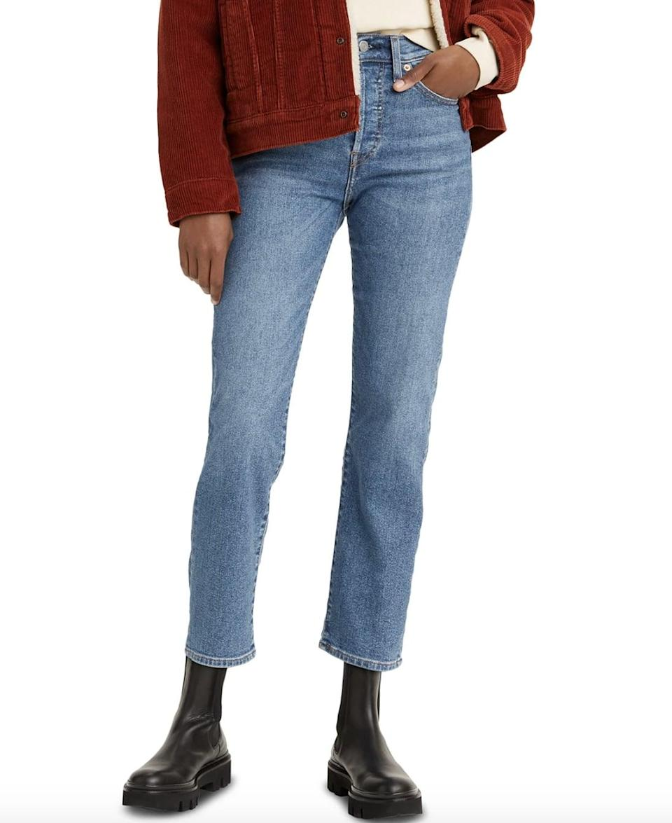 <p>The <span>Levi's Wedgie Straight-Leg Cropped Jeans</span> ($70) are one of the brand's most popular pairs. The versatile cut looks good styled just about any way.</p>