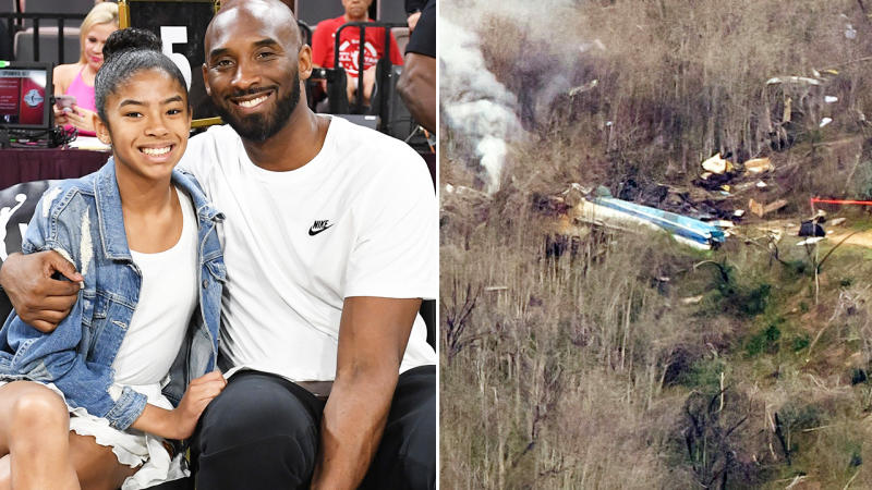 Kobe and Gianna Bryant, pictured here before the fatal helicopter crash.