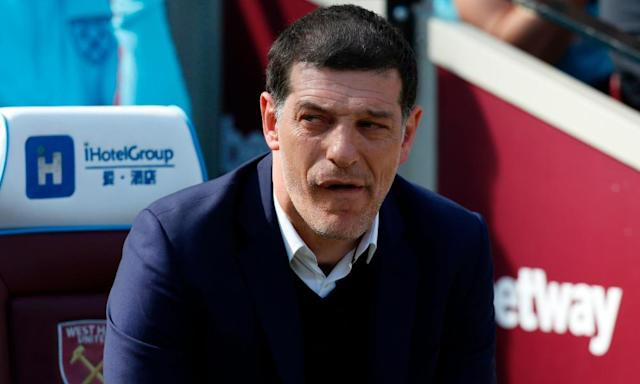"""<span class=""""element-image__caption"""">Slaven Bilic said that 'this season could be one of the most valuable for the club and the team' after West Ham's 1-0 win over Swansea City.</span> <span class=""""element-image__credit"""">Photograph: Ian Kington/AFP/Getty Images</span>"""