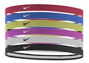 <p>Keep your hair out of your face with this 6-pack of <span>Nike Swoosh Sport Headbands</span> ($19). You can choose between a black-and-white pack or one with assorted colors.</p>