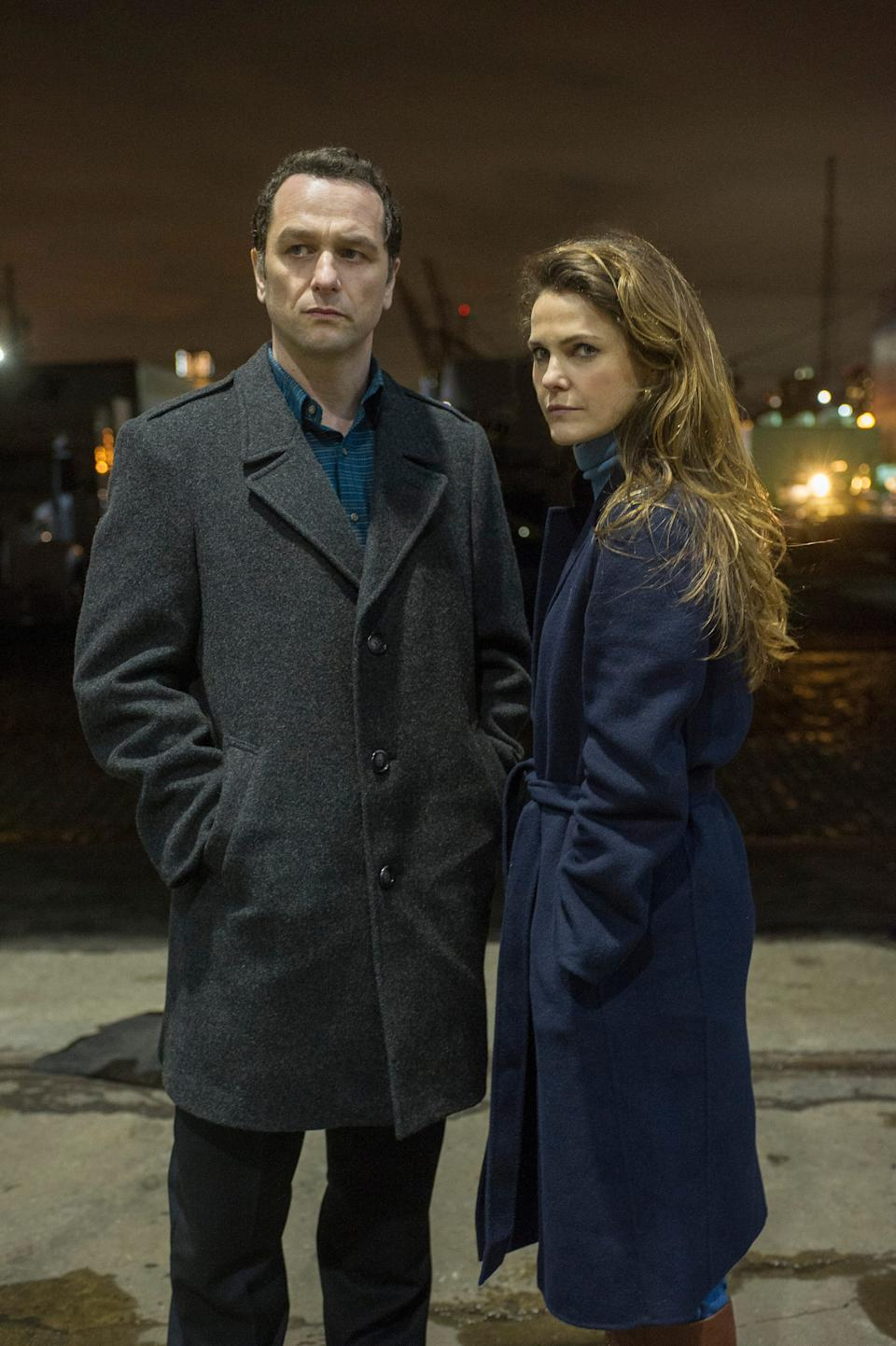 """""""The Americans"""" (FX) with Matthew Rhys and Keri Russell"""