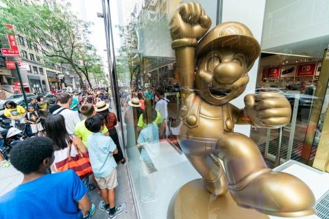 Photos of the Back-to-School Event at Nintendo NY Store Are Available on Business Wire's Website
