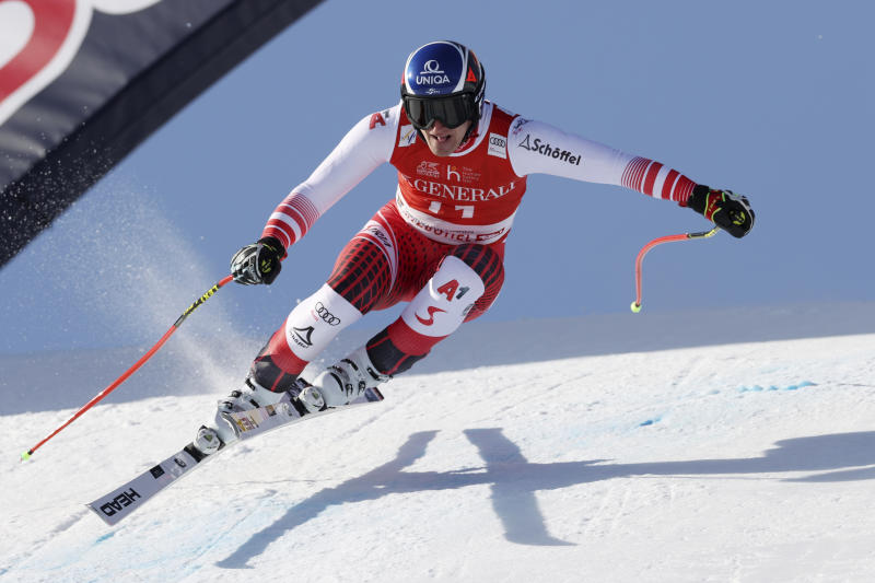 Jansrud takes super-G in Kitzbuehel for 1st win in 14 months