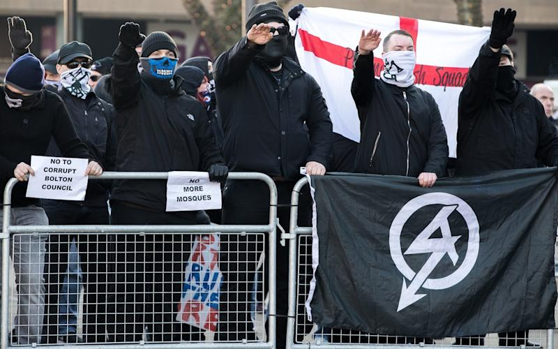 Six held on suspicion of belonging to neo-Nazi group - London News Pictures Ltd