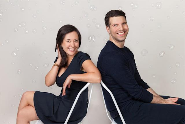 Billie co-founders Georgina Gooley and Jason Bravman (Photo courtesy of Billie)