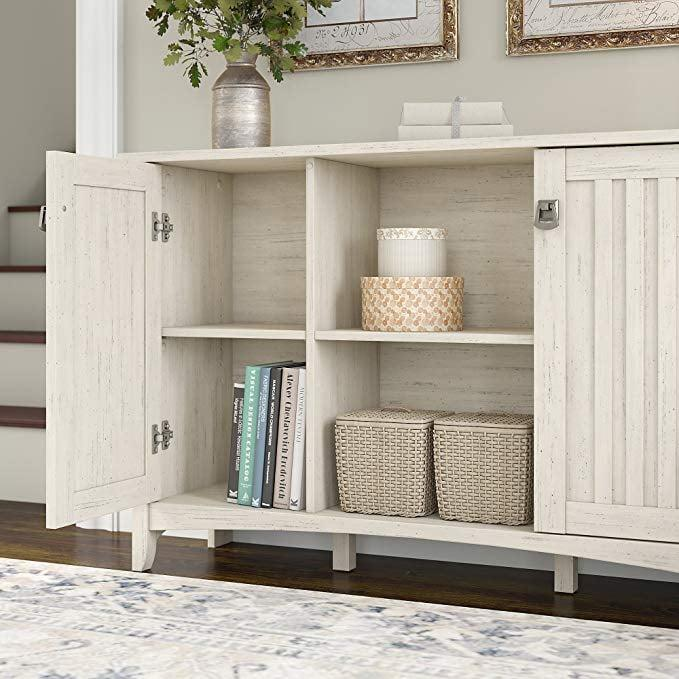 "<p>This <a href=""https://www.popsugar.com/buy/Bush-Furniture-Storage-Cabinet-408200?p_name=Bush%20Furniture%20Storage%20Cabinet&retailer=amazon.com&pid=408200&price=137&evar1=casa%3Aus&evar9=45735037&evar98=https%3A%2F%2Fwww.popsugar.com%2Fphoto-gallery%2F45735037%2Fimage%2F45735038%2FBush-Furniture-Storage-Cabinet&list1=shopping%2Camazon%2Chome%20decor%2Cfurniture%2Chome%20shopping&prop13=api&pdata=1"" rel=""nofollow"" data-shoppable-link=""1"" target=""_blank"" class=""ga-track"" data-ga-category=""Related"" data-ga-label=""https://www.amazon.com/Bush-Furniture-Salinas-Storage-Cabinet/dp/B0799BJVYX/ref=sr_1_5?s=home-garden&amp;ie=UTF8&amp;qid=1548454647&amp;sr=1-5&amp;keywords=best+amazon+brand+furniture"" data-ga-action=""In-Line Links"">Bush Furniture Storage Cabinet</a> ($137) makes for a great hallway table or TV stand. It comes in two other finishes.</p>"