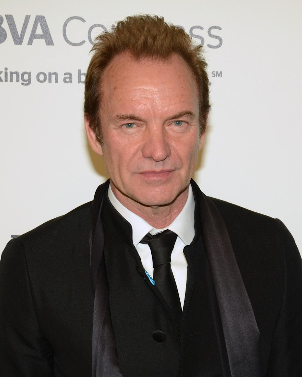 "Embargoed to 1730 Thursday June 15 File photo dated 26/02/17 of singer-songwriter Sting who said he is ""both grateful and somewhat bemused"" to have been awarded the prestigious Polar Music Prize."