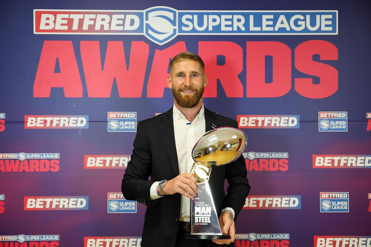 Newly-crowned Man of Steel Sam Tomkins has had a big influence on Catalans utility player Arthur Mourge