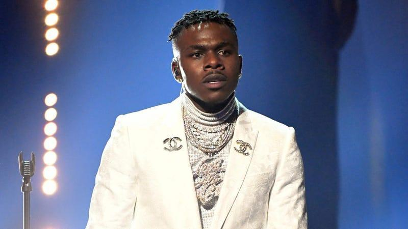 DaBaby performs onstage during the 63rd Annual GRAMMY Awards at Los Angeles Convention Center in Los Angeles, California on March 14, 2021.
