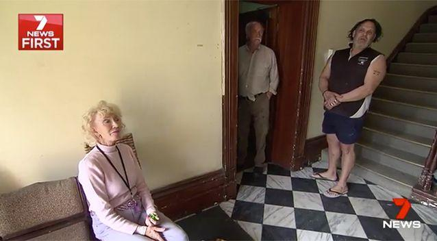 Tenants and residents have been forced to move on. Source: 7 News