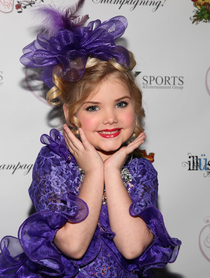 """Eden Wood attends the """"Eden's World"""" premiere party at Room Fifty5 at Dream Midtown on April 16, 2012 in New York City."""