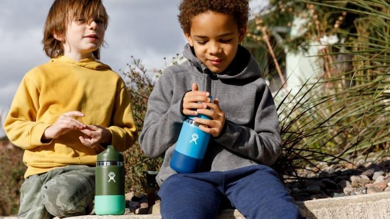 The Hydro Flask is durable and easy for kids to use.
