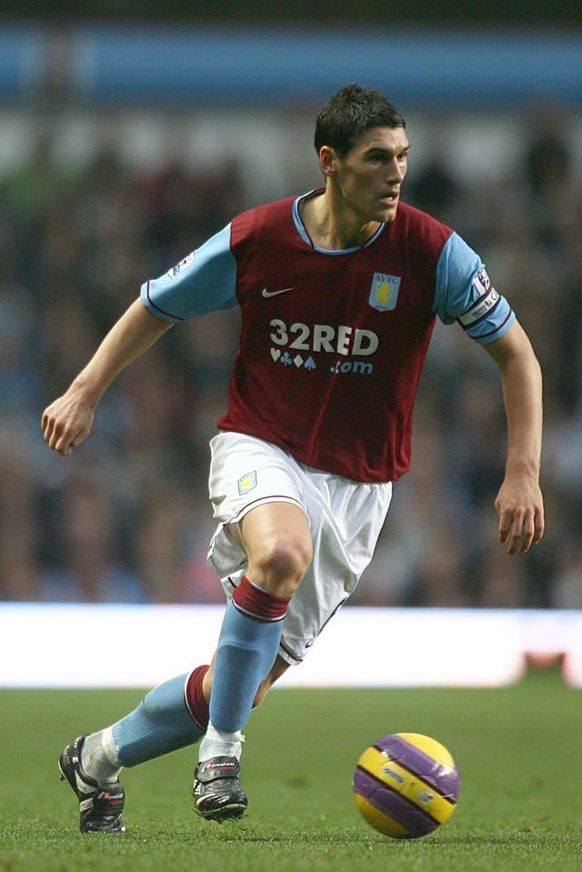 Barry made his mark as a youngster with Villa