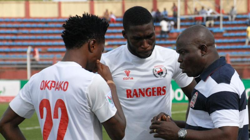 Image result for pic of enugu rangers playing