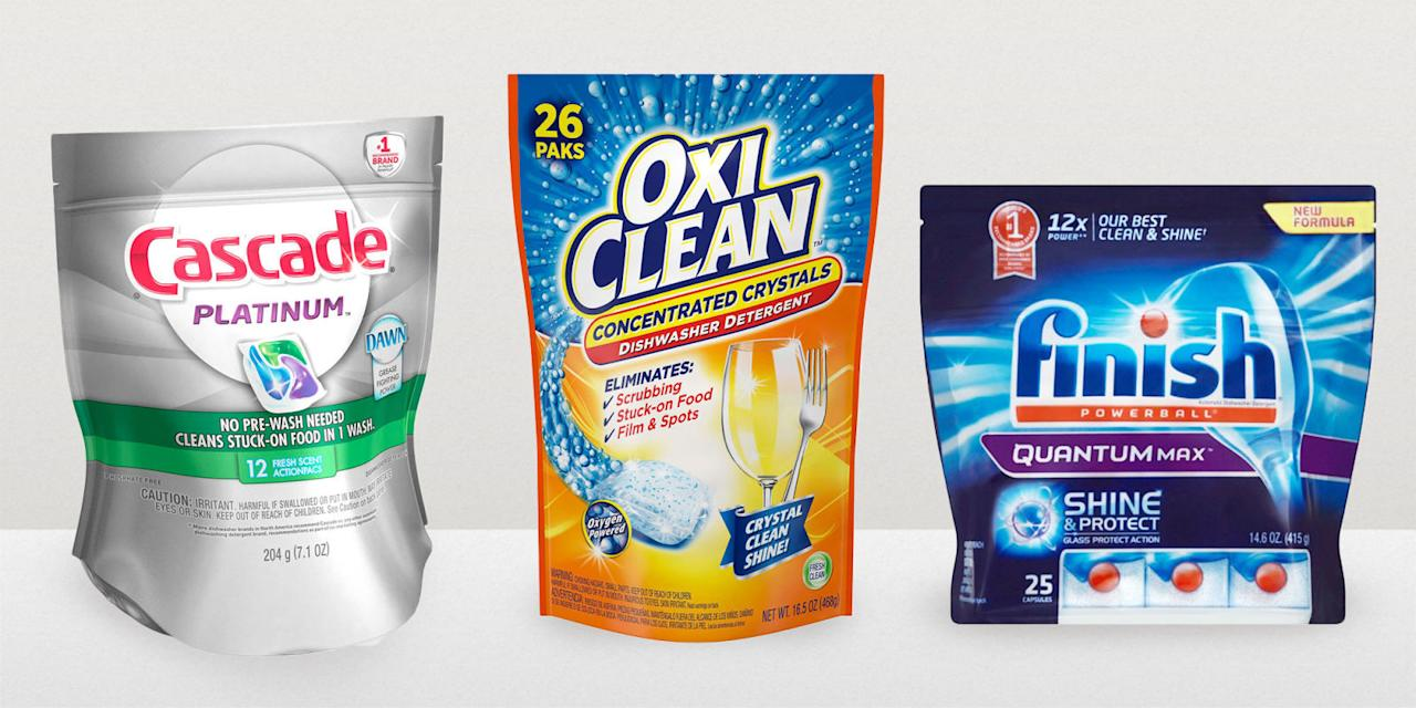 8 Top Rated Dishwasher Detergents To Run In Your Clean Machine